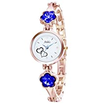 Addic Analogue White Dial Women's & Girl's Watch - Addicww46
