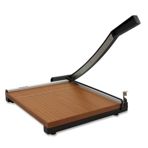 Wholesale CASE of 2 - Elmer's X-ACTO Square Heavy-duty 15''X15'' Trimmer-Paper Trimmer,15'',15 Sheet Cap.,3/4'' Thick Base,Brown/Black