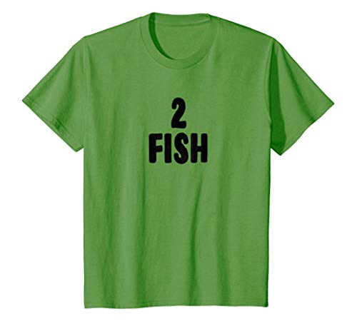 Kids Two Fish Group Halloween Costume T-shirt 4