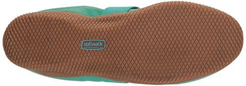 Softwalk Kvinners Høydepunkt Mary Jane Flat Jade Myk Matt Skinn