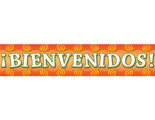 Teacher Created Resources Welcome  Spanish  Banner  Multi Color  4857