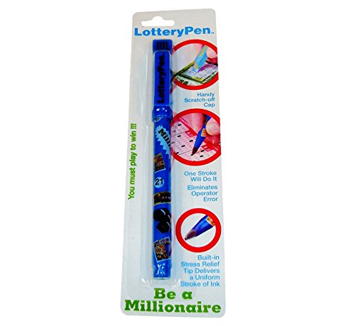 Lottery Pen, Lottery Ticket Pen, Marker with Scratch - Scratcher Tool