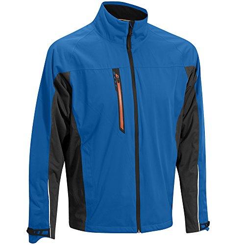 Mizuno Flex Waterproof Rain Jacket 2015 Royal/Charcoal X-Large