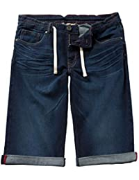 Men's Big & Tall Denim Jogger Stretch Bermuda Shorts 708366