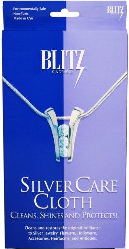 blitz silver polishing cloth - 6
