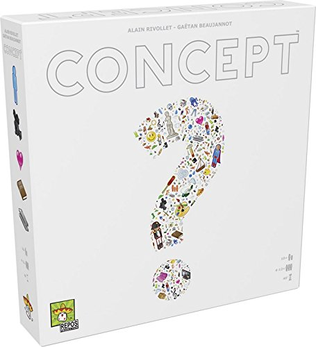 Asmodee - CONFR01 - Jeu de Societe - Concept product image