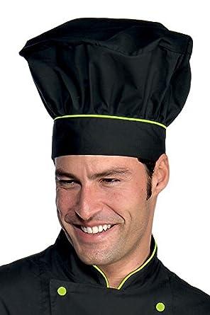 Isacco Cappello Cuoco Bianco+Italy 100% Cotone