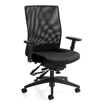 Tilter Task Chair (Medium Back Mesh Task Chair with Multi-Tilter Color: Black Coal)