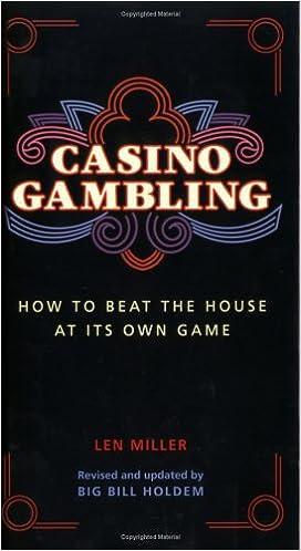 of legalizing gambling