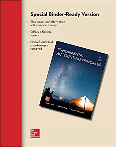 Amazon loose leaf for fundamental accounting principles loose leaf for fundamental accounting principles 22nd edition by john j wild fandeluxe Image collections