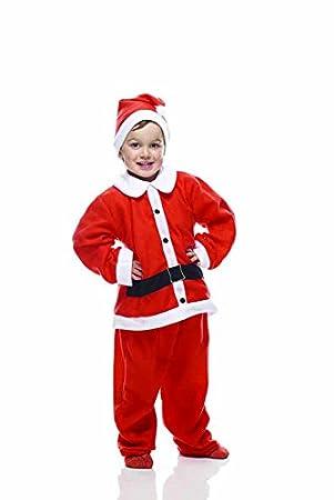 Rubies s it00010 - Papá Noel Navidad Niño Disfraz, Talla única ...