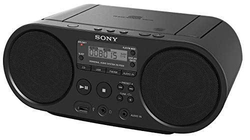 Sony Portable CD Player Boombox Digital Tuner AM/FM Radio Mega Bass Reflex Stereo Sound System
