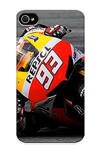 (dqcrvk-4514-harcvdw)durable Protection Case Cover With Design For Iphone 4/4s(motogp Championship Grand Prix Superbike Race Racing Moto Lemans (231) )
