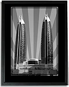 Photo of Damac Tower-Black And White No Text F09-NM (A1)