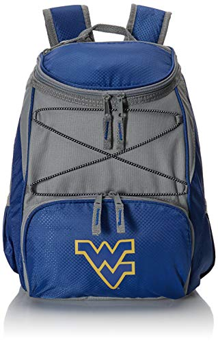 PICNIC TIME NCAA West Virginia Mountaineers PTX Insulated Backpack Cooler, Navy
