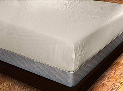 Heavy Duty PVC Vinyl Mattress Protector Cover, Hypoallergenic Waterproof Encasement, Bed Bugs - Dustmites Shield, 15 Inch Deep Pocket (Full - 78