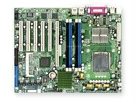 SUPERMICRO P8SCT E7221 Bulk 800 GIG DDR2 4SATA PCI-X IPMI 2.0 Dual Gig LAN Motherboard