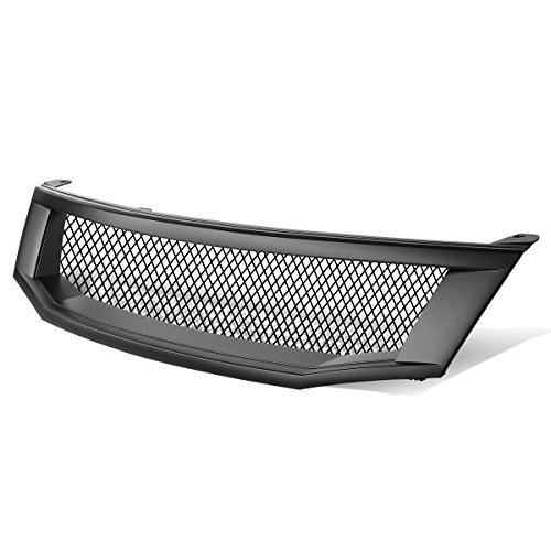 - For Honda Accord 4DR Type-R Style ABS Plastic Aluminum Mesh Front Grille (Black) - 8th Gen CP CS
