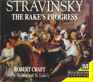 Stravinsky Rake S Progress Craft Cd