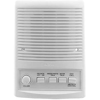 nutone isa 449wh intercom patio speaker. Black Bedroom Furniture Sets. Home Design Ideas