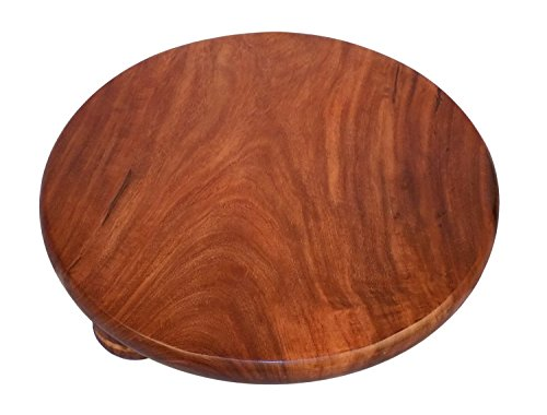 Round Deluxe Sheesham / Rosewood Polpat-11' Inch