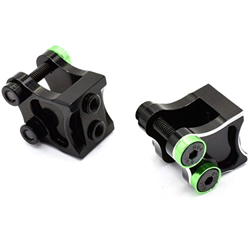 Link Mount - Hot Racing WRA12A01 Aluminum AR60 Lower Link/Shock Mounts Wraith Yeti
