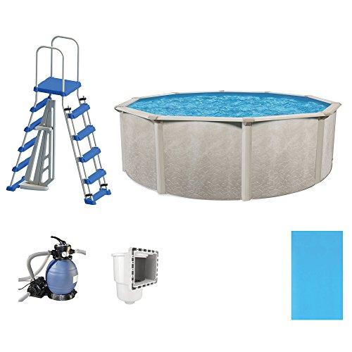 Cornelius Pools Phoenix 15' x 52'' Frame Above Ground Pool Kit with Pump & Ladder by Cornelius