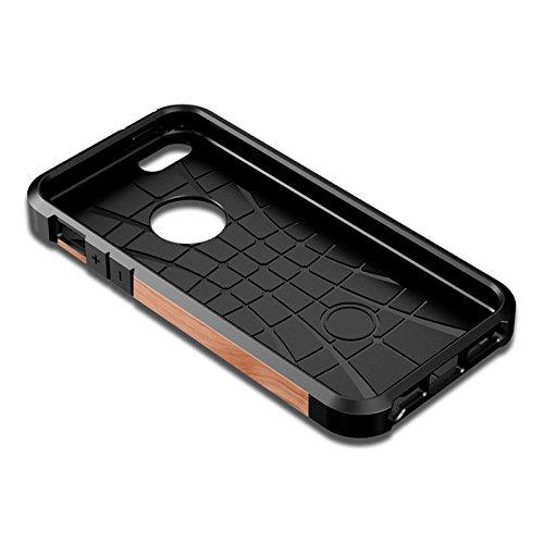 Iphone hülle, Für iPhone 6 Camouflage Muster PC + TPU Bunte Rüstung Hard Case rutschsicher Telefon-Kasten ( SKU : S-IP6G-6683L )