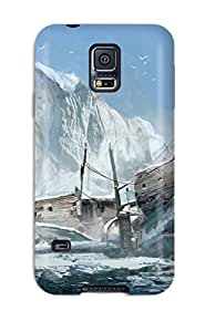 Jordyn Siegrist's Shop Best Tpu Shockproof Scratcheproof Assassin's Creed: Rogue Hard Case Cover For Galaxy S5