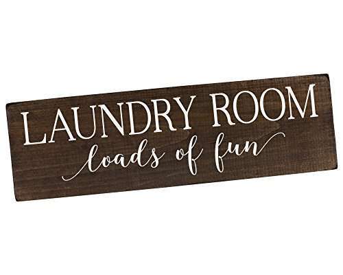 Elegant Signs Loads of Fun Laundry Room Sign