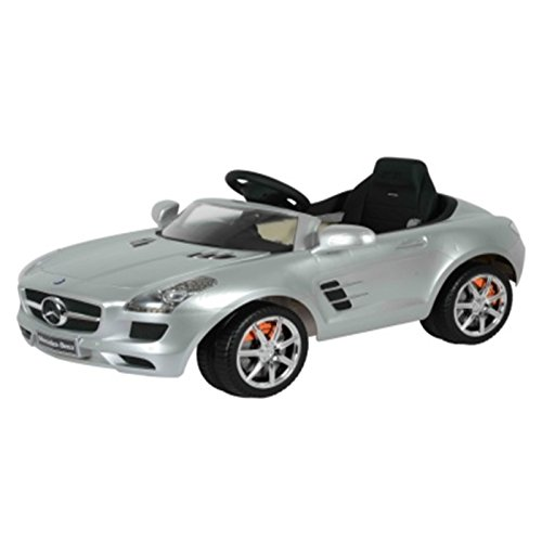 Mercedes benz sls amg 6v kids ride on battery powered for Mercedes benz toddler car