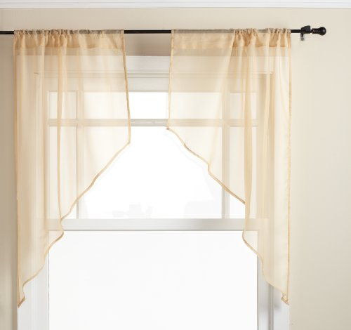 """Used, Stylemaster Elegance Sheer Voile 56"""" X 38"""" 