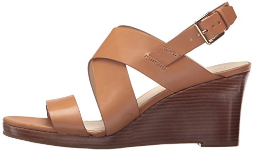 Cole Haan Women's Penelope II Wedge Sandal, Pecan Leather, 7.5 B US by Cole Haan (Image #5)