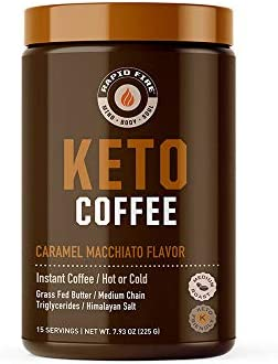 Rapid Fire Ketogenic Coffee – Caramel Macchiato