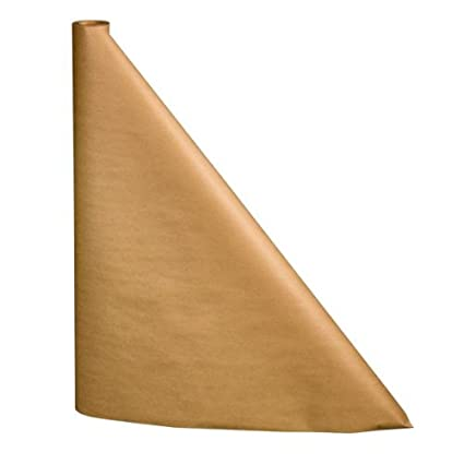 225 & 100 foot Plain Brown Kraft Paper Table Cover