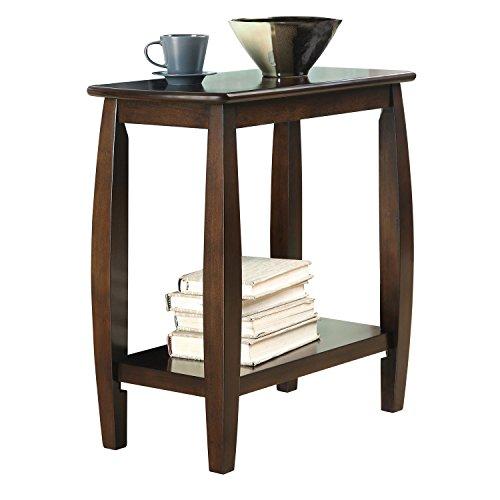 (Coaster CO-900994 Chairside Table, Cappuccino)