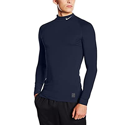 New Nike Men's Cool Compression Mock Long Sleeve Shirt