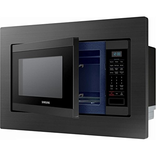 Samsung MS19M8020TG 1.9 Cu. Ft. Black Stainless Countertop Microwave for Built-In Application MS19M8020TG/AA by Samsung (Image #2)