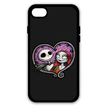 New The Nightmare Before Christmas Jack And Sally Cover iPhone 7 PLUS 5.5 inch Case B0M8LOG
