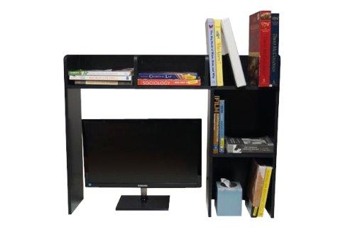 DormCo Classic Desk Bookshelf - Black by DormCo