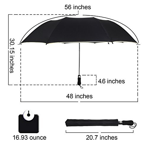 Rainlax-Golf-Windproof-Umbrella-56inch-Large-Folding-Auto-Open-Compact-Travel-Umbrellas