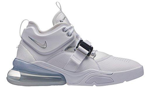 NIKE Sneakers Silver Weiß Herren 270 Metallic Air 100 Force White 7aPrU7W