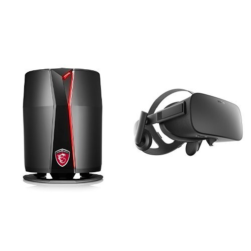 Price comparison product image MSI VR Ready Vortex G65VR SLI-091 Compact Powerhouse Gaming Desktop & Oculus Rift - Virtual Reality Headset   Bundle