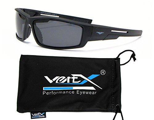 VertX Mens Polarized Sunglasses Sport Cycling Running Outdoor Free Microfiber Pouch