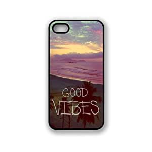 Good Vibes Hipster Quote iphone 5c Case Fits iphone 5c - Designer TPU Case Verizon AT&T Sprint
