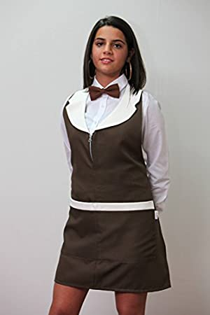 Fratelliditalia Grembiule zip donna barista lavoro bar ristorante sala albergo hotel cameriera