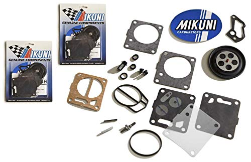 Genuine Mikuni Dual Carb Carburetor Rebuild Kit Yamaha GP800 GP800R Xl800 XLT800
