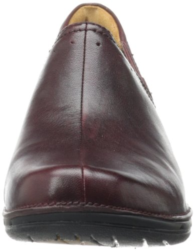 Clarks Women's UN Lory Loafer Burgundy Leather pre order cheap online QcVUJxxF