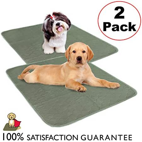 CLASSIC Millie Mats Washable Dog Pee Pads (2 Pack) for Puppies, Incontinent & Senior Dogs. Size 28