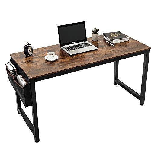 55 computer desk sturdy office deskcomputer writing desk with storage bag